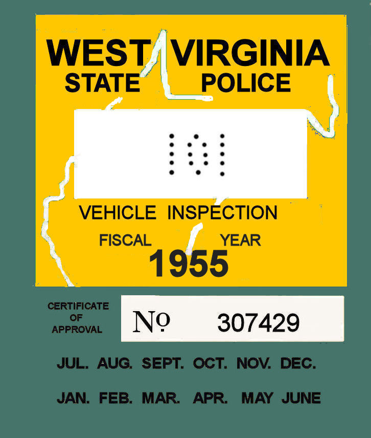 1955 West VA Inspection